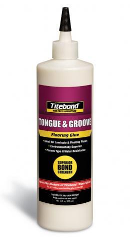 Klijai Medinių Grindų Liežuvėliui ir Grioveliui Titebond® Tongue & Groove Flooring Glue
