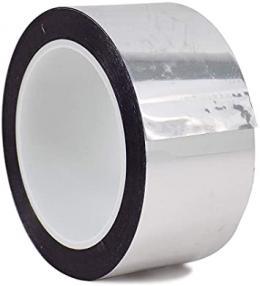 Metalizuota Aliuminio Spalvos Lipnioji Juosta Polipropileno Pagrindu (PP)