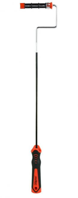 Prailginta lanksti MINI volelio rankena su guoliukais (10cm) - SERIA 330