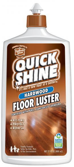Quick Shine® Intensyviai Naudojamų Kietmedžio Grindų Atnaujinimo Priemonė 800ml kaina