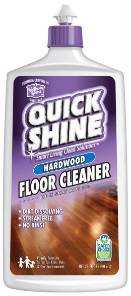 Quick Shine® Intensyviai Naudojamų Kietmedžio Grindų Valiklis 800ml kaina
