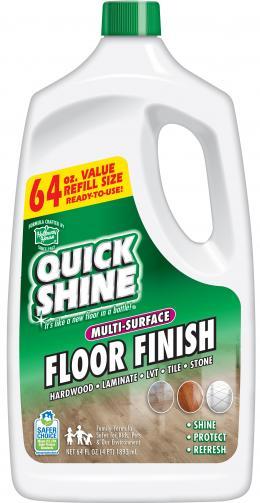 Quick Shine® Įvairių Paviršių Grindų Atnaujinimo Priemonė 1,89l kaina