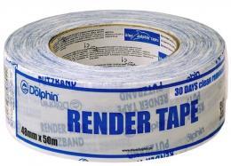 RENDER TAPE - Fasadinė lipnioji juosta tinkui ir plytoms (plastikinė, balta, 30 dienų) kaina