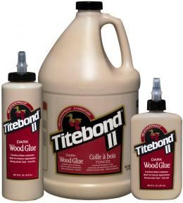 """Tamsūs Medienos Klijai """"Titebond II Dark Wood Glue"""""""