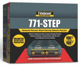 Titebond® 771-Step – Klijai Parketui, Parketlentėms ir Masyvo Grindims - Apsauga Nuo Drėgmės ir Garso (17,2kg)