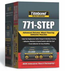 Titebond® 771-Step – Klijai Parketui, Parketlentėms ir Masyvo Grindims - Apsauga Nuo Drėgmės ir Garso (8,6kg)